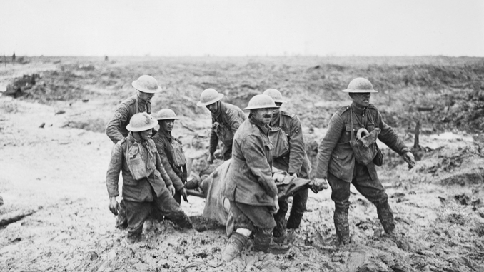 The Battle of Passchendaele was bloody and horrific, resulting in a haunted battlefield.