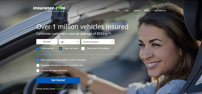 Insurance.com is the world's most expensive domain name.