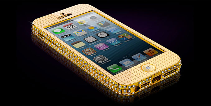 The iPhone 4S Elite Gold is the world's most expensive mobile phone.