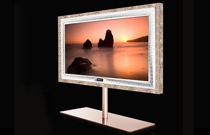 The Supreme Rose television is the world's most expensive television.