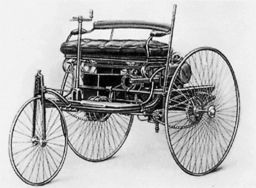 This is the world's first car.
