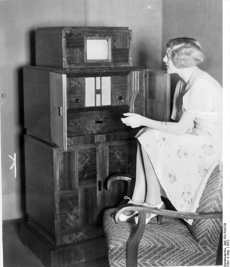 This is the world's first television.