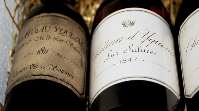 This wine is one of the most expensive in the world.
