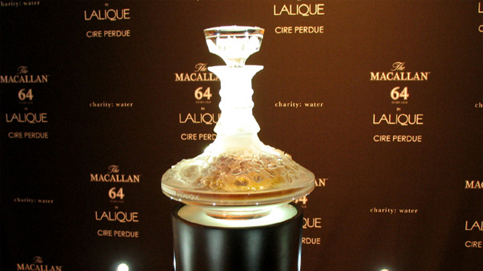 This is some of the most expensive booze ever made.
