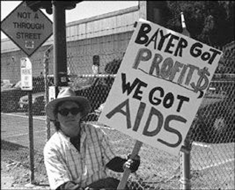 The Bayer aids scandal is a conspiracy theory that turned out real.