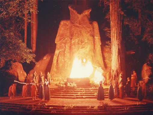 The Bohemian Grove is a conspiracy theory that turned out to be real.