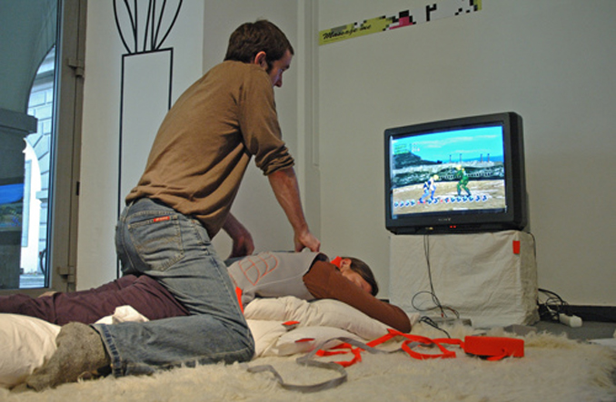 Massage Me Video Game Controller.