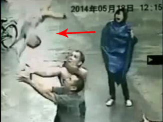 10 Crazy Moments Caught on CCTV