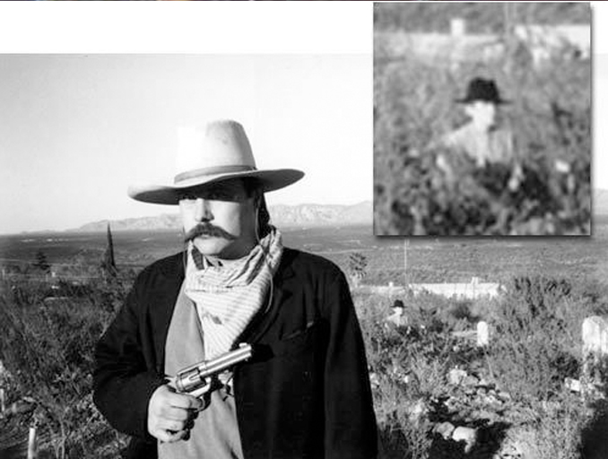 The Infamous 'Cowboy in the Ground' Photo - 10 Photos That Should Not Exist