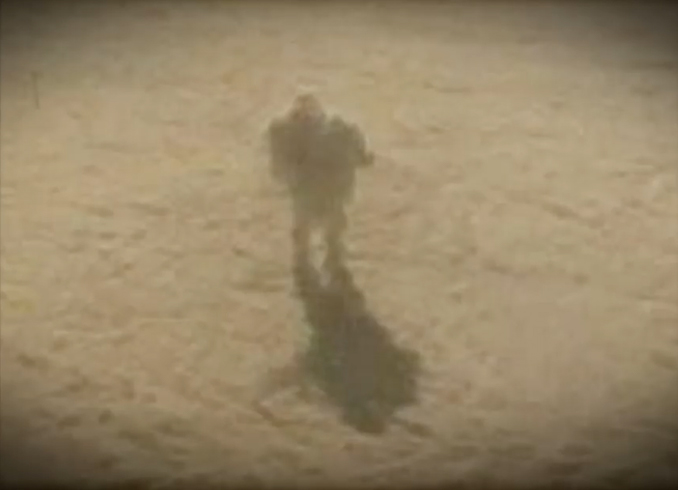 Angel photographed walking on the clouds - 10 Real Angels Caught on Tape Performing Miracles