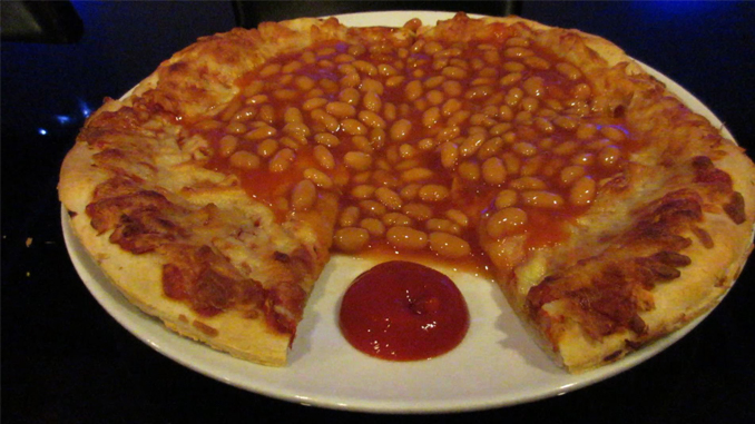 Weird pizzas from around the world.