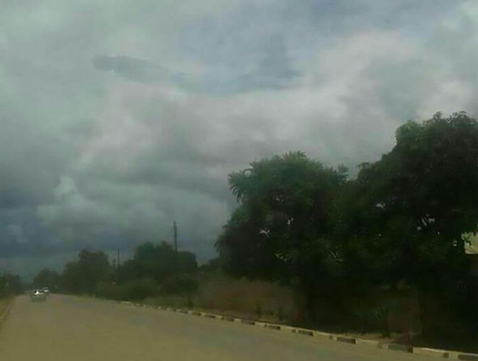 Mysterious creature in the sky seen in Zambia - 10 Strangest Things Ever Seen in The Sky