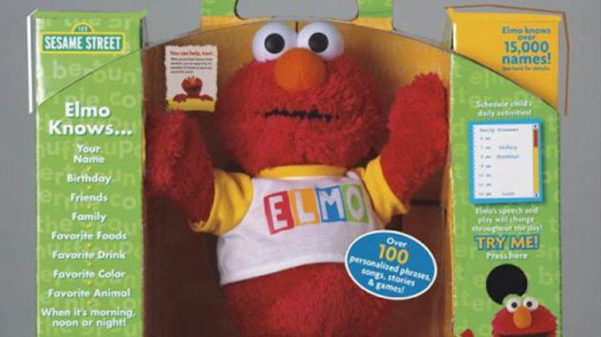 Cursed Elmo doll - 10 Cursed Dolls With Very Creepy Backstories