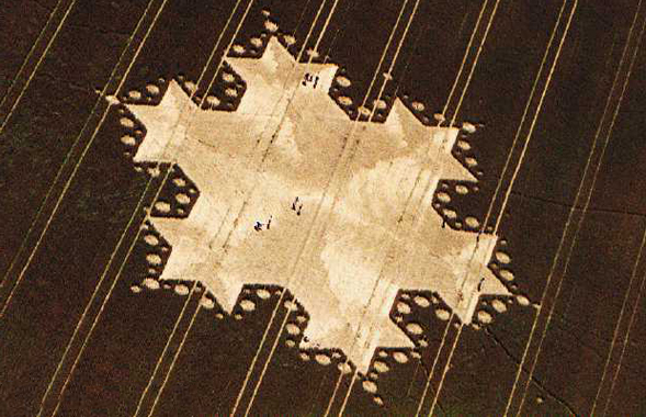 Amazing crop circle that has many baffled
