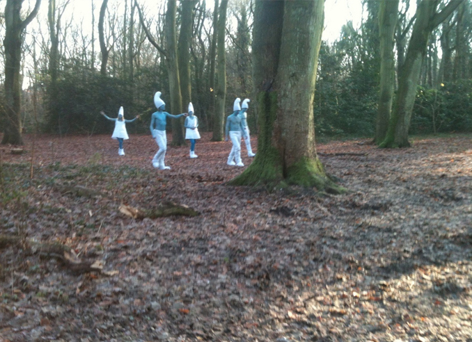 Real Smurfs seen in the woods - 10 Strangest Things Ever Found in the Woods