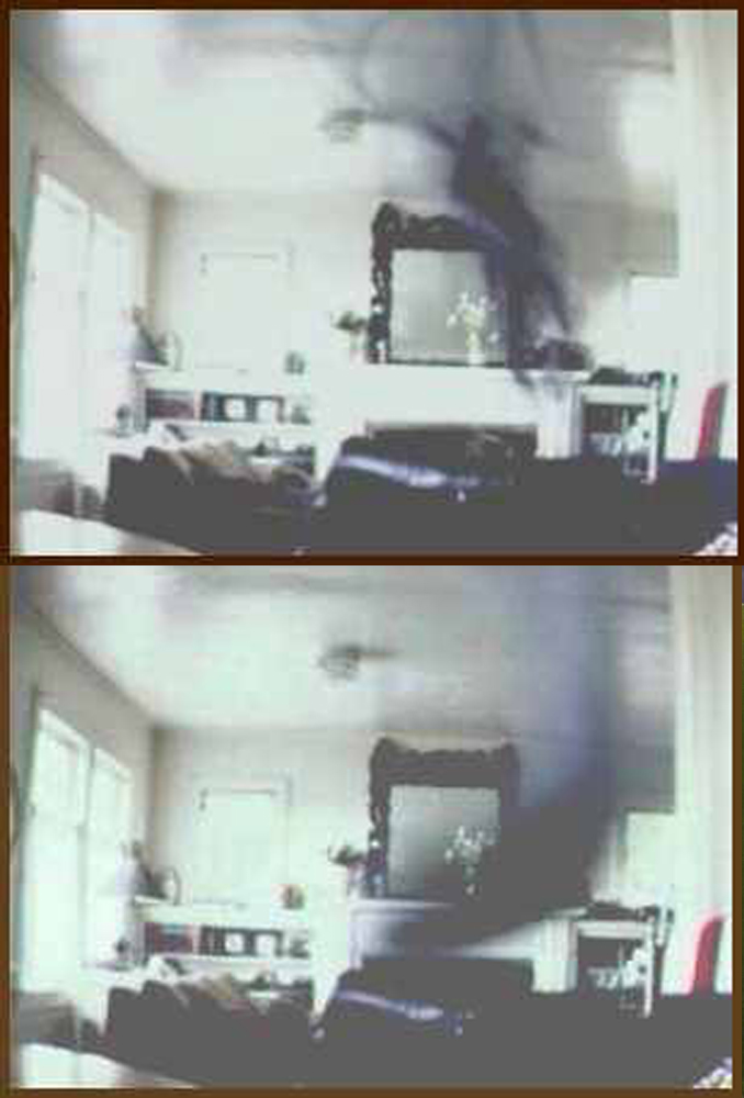 Shadow people sighted in room.