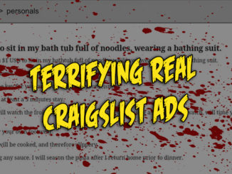 These are the creepiest Craigslist stories that actually happened.
