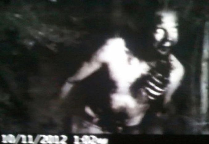 Zombie filmed on trail camera - 10 Trail Camera Photos That Cannot Be Explained