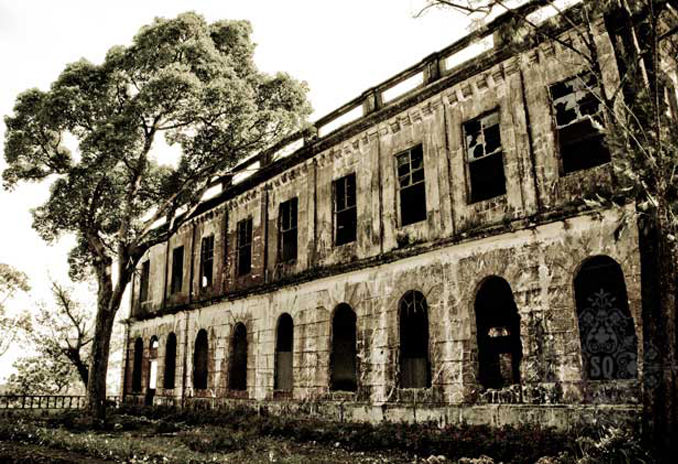 The Diplomat Hotel in Baguio is old and scary and is one of the Most Haunted Places in the Philippines