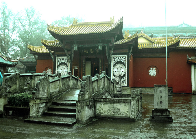 Fengdu is known as the city of ghosts and is thought to be one of the most haunted places in China