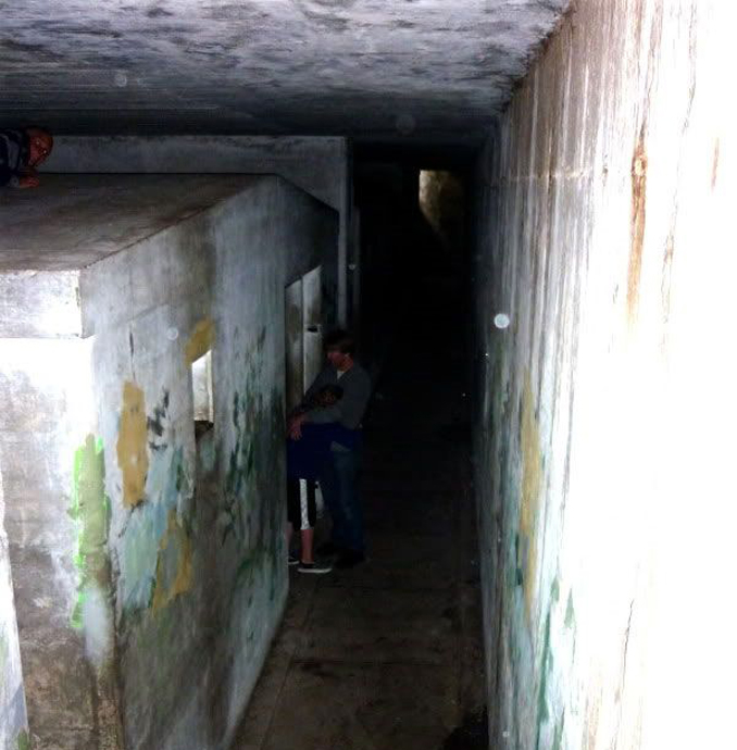 This photo was taken in Fort Worden. It ones of a series of real photos that have left skeptics stumped