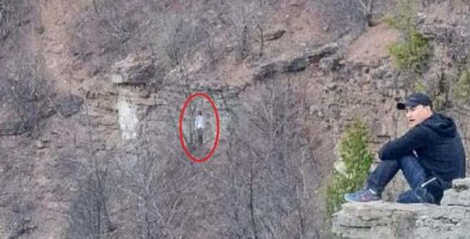 A hiker took this photo in Canada and it appears to show a ghost, it's just one of many real photos that have left skeptics stumped.