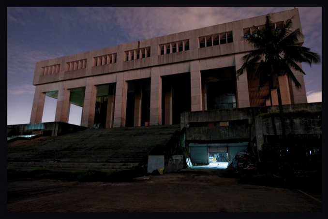 The old Manila Film Center is one of the Most Haunted Places in the Philippines