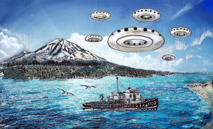 The Maury Island Incident is one of the most Famous Alien Abduction Cases