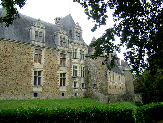 Chateau de Chateaubriant is one of the most haunted places in France.