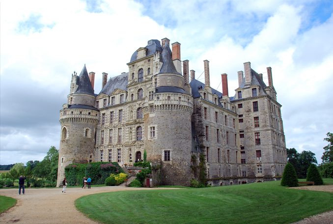 Chateau de Brissac is one of the most haunted places in France.