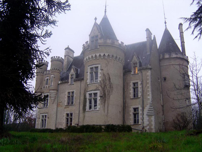 Chateau de Fougeret is one of the most haunted places in France.