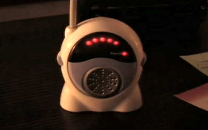 Creepy voice heard over baby monitor - 10 Terrifying Things Caught on Baby Monitors