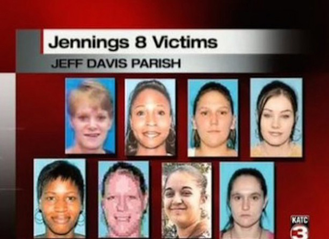 The Jess Davis 8 were involved with one of many Notorious Serial Killers Who Were Never Caught