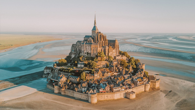 Mont Saint Michel is one of the most haunted places in France