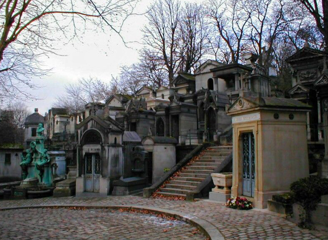 Pere Lachaise is one of the most haunted places in France.
