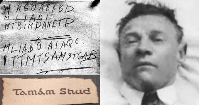 The Taman Shud mystery is one of the most baffling unsolved crimes.