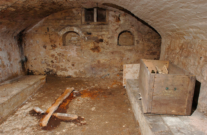 Ancient chapel found under a house in Shropshire, England - 10 Creepiest Secret Rooms Ever Discovered