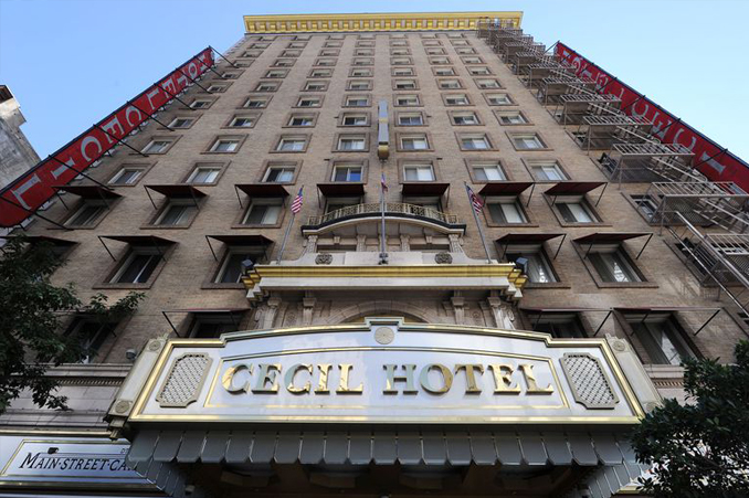 The Cecil Hotel in LA is one of many haunted hotels throughout the United States
