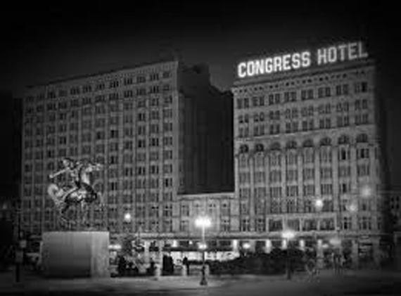 The Congress is one of many haunted hotels throughout the United States