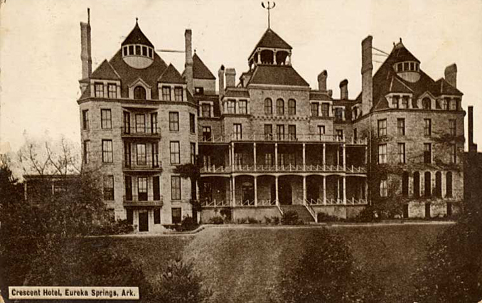 The Crescent Hotel Eureka Springs is one of many haunted hotels throughout the United States