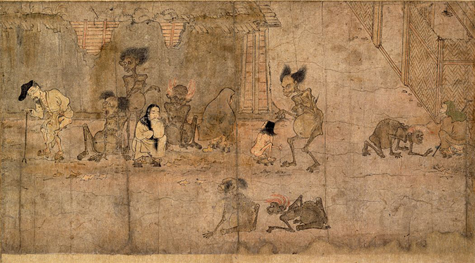 The Gaki are one of many creepy ghosts and demons from Japanese folklore