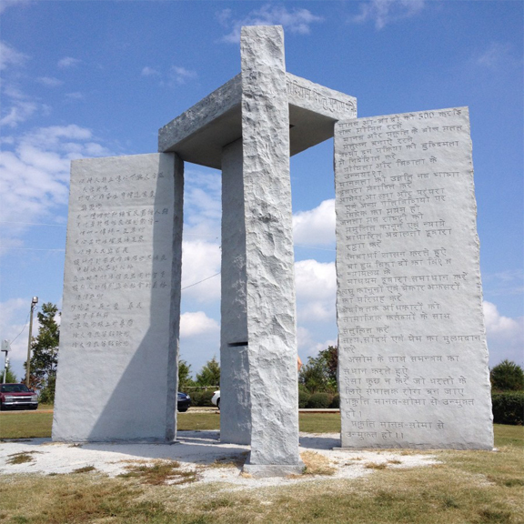 The Georgia Guidestone are one of many mysterious events that people struggle to comprehend