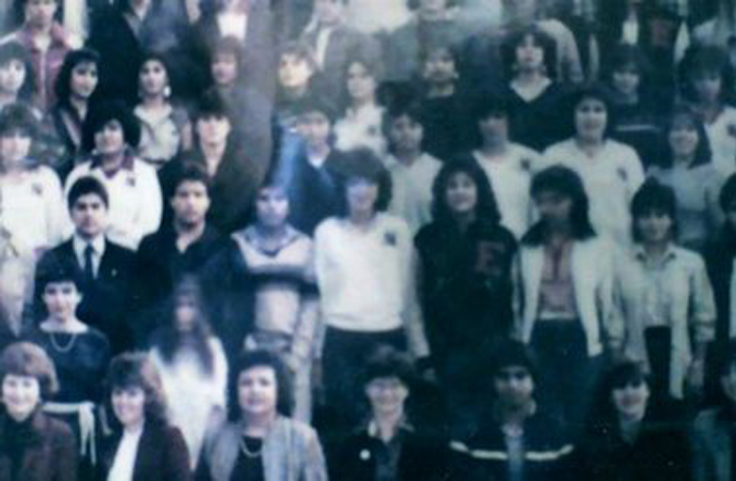 El Paso High School ghost photo - 10 Real Ghosts That Have Appeared in School Photos