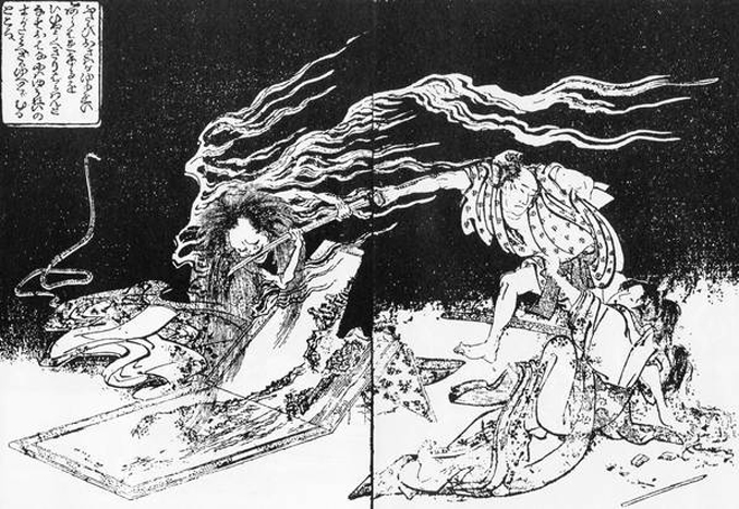 The Onyro are one of many creepy ghosts and demons from Japanese folklore