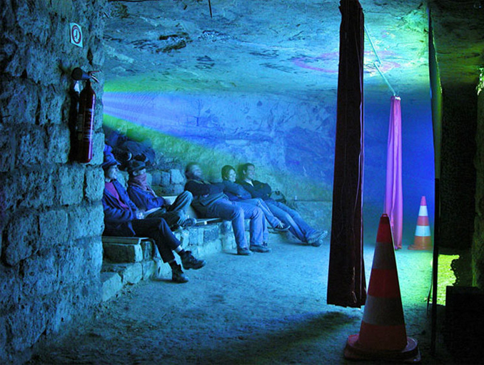 Underground cinema in Paris, France - 10 Creepiest Things Discovered Underground