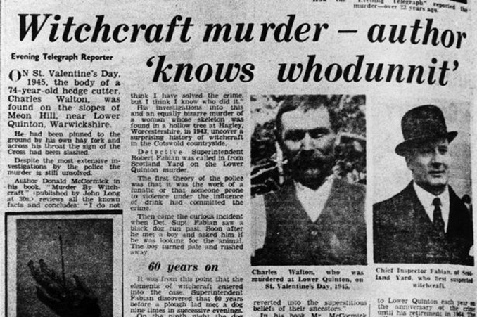The Charles Walton Witchcraft murder is one of many Baffling and Unexplained Events from the Past