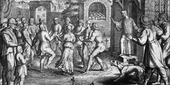 The Dancing Plague of 1518 is one of many Mysteries From the Past That Remain Unsolved