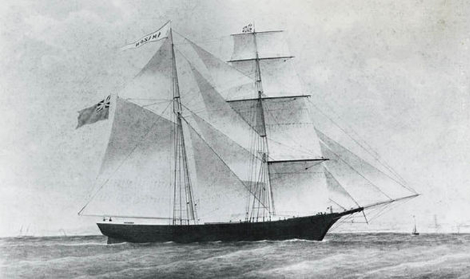 The Mary Celeste story is one of the most Baffling Events That Remain Unsolved