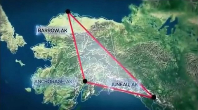 The Alaska Triangle is one of many Cursed Destinations You Should NEVER Visit