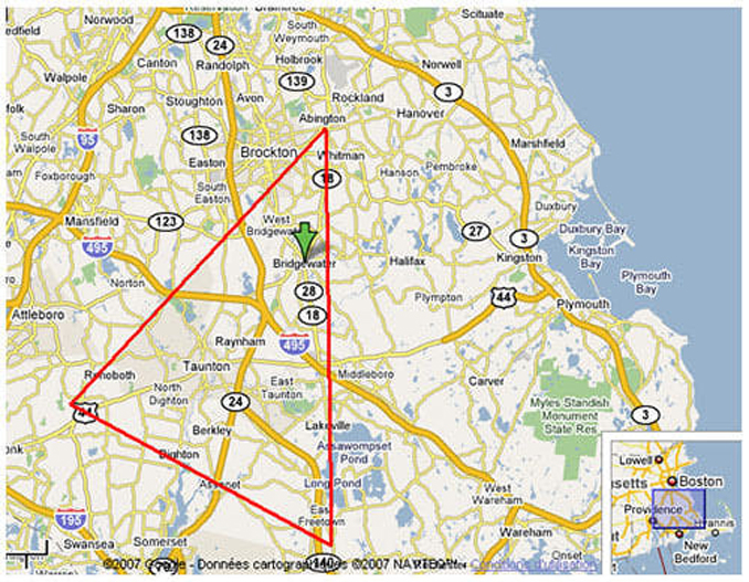 The Bridgewater triangle is one of many Cursed Destinations You Should NEVER Visit